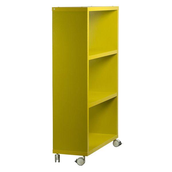 Biblioteca-con-Ruedas-Mix-3-Repisas-Verde---
