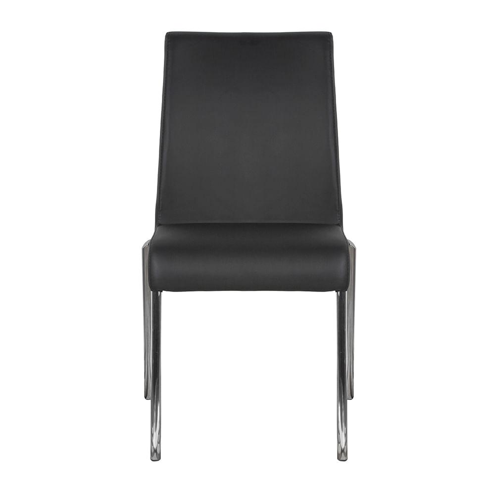 Silla de comedor lugo negro tugocolombia for Muebles de oficina lugo
