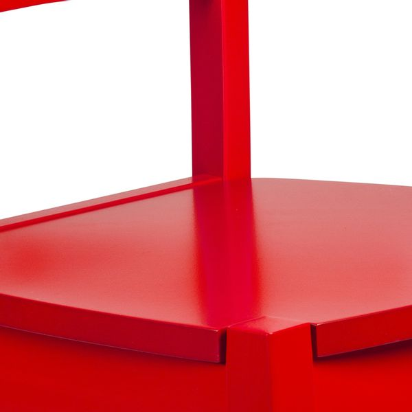 Silla roja auxiliar para niños Toscana  tugocolombia