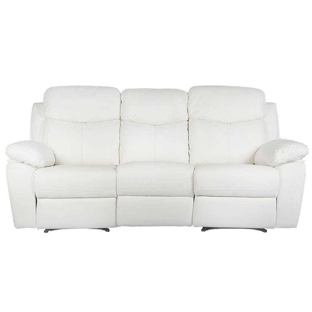 Sofa 3 Puestos Reclinable  Napoles ...