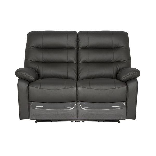 Sofa-2-Puestos-Reclinable-Milan-Cuero-Pvc-