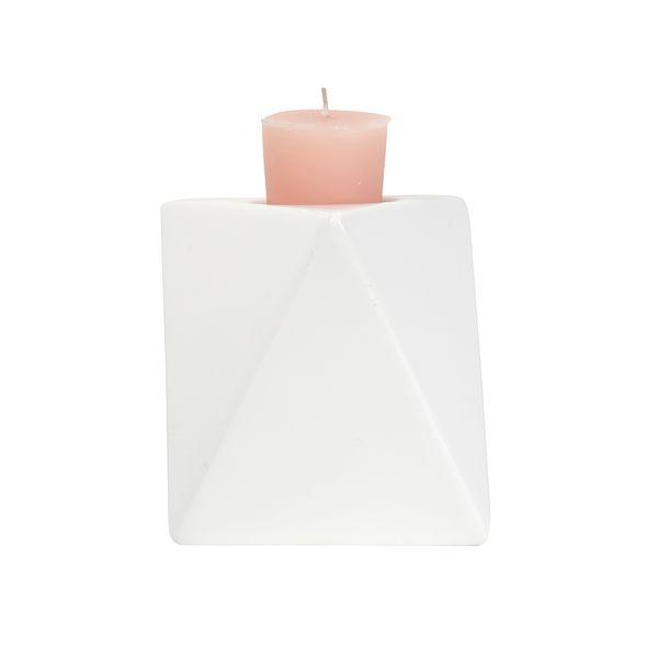 P-Vela-Triangulo-12Cm-Ceramica-Blanco-----------------------