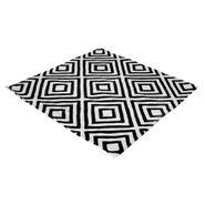 Tapete-Rhombus-130-130Cm-Lana-Blanco-Negro