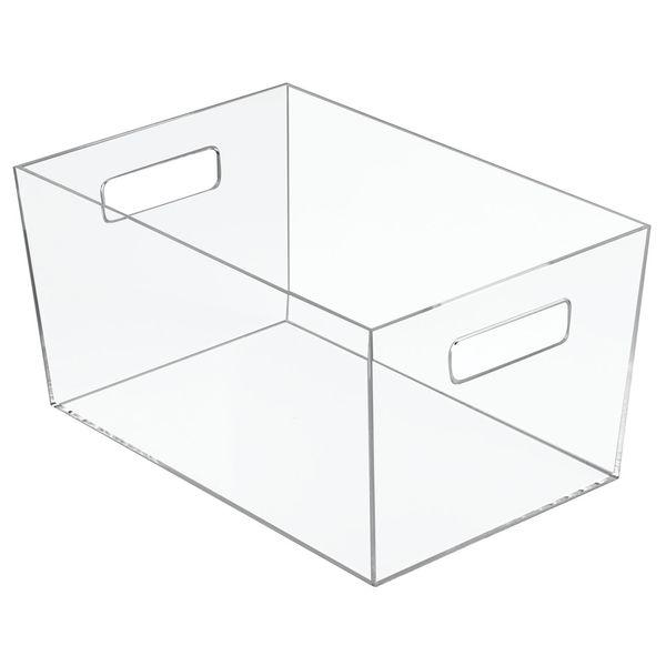Caja-Organizadora-Baño-Luci-20-20-15Cm-Plastico-Transparente