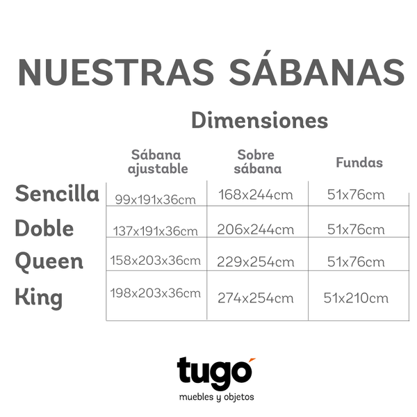Juego de sabanas saten stripe queen 300h tugocolombia for Medidas de sabanas king size