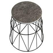 Mesa-Auxiliar-Occasional-45-45-45Cm-Lam-Metal-Cemento
