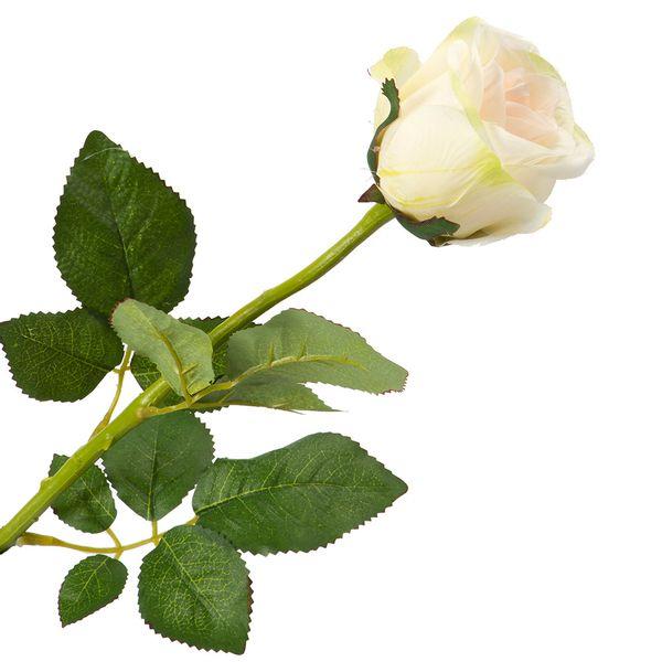 Flor-Artificial-Rosa-55Cm-Tela-Blanco-----------------------