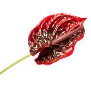 Flor-Artificial-Anturio-68Cm--Plastico-Rojo-----------------