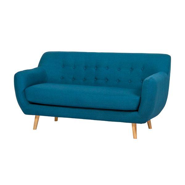Sofa-3-Puestos-Retro-Patas-Madera-Tela-Azul