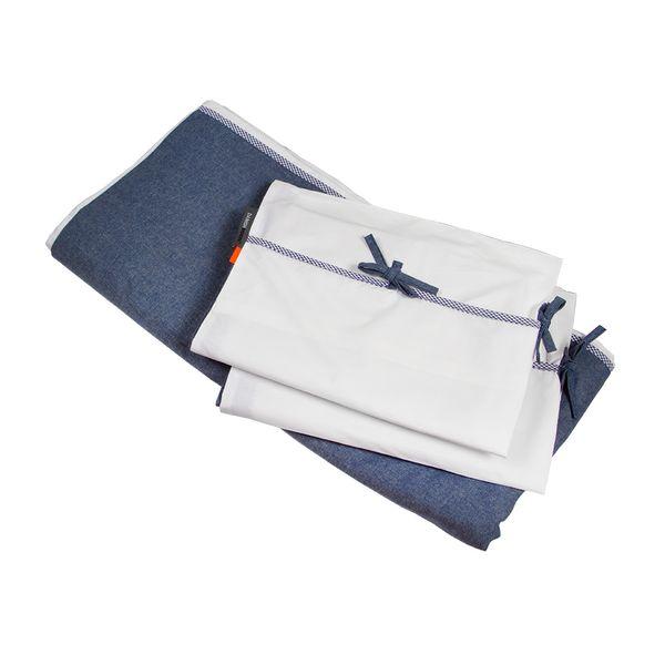 Set-Duvet-King-Chambrai-280-250Cm-Alg-Blanco-Azul