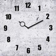 Reloj-Concret-30-30Cm-Vidrio-Gris