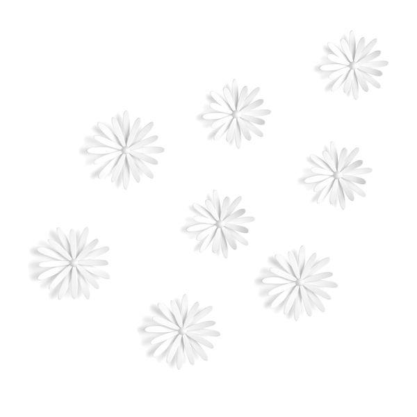 Aplique-Pared-Delica-X8-27X22Cm-Plastico-Blanco-------------