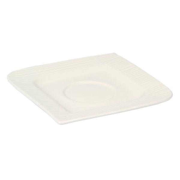 Plato-Taza-Fantastic-Ripple-14Cm-Porcelana-Blanco