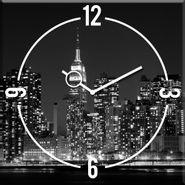 Reloj-New-York-Clock-30-30Cm-Vidrio-------------------------