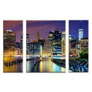 Set-3-Cuadros-Manhattan-Riverbank-60-80Cm-Vidrio------------