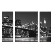 Set-3-Cuadros-New-York-Skyline-60-80Cm-Vidrio---------------