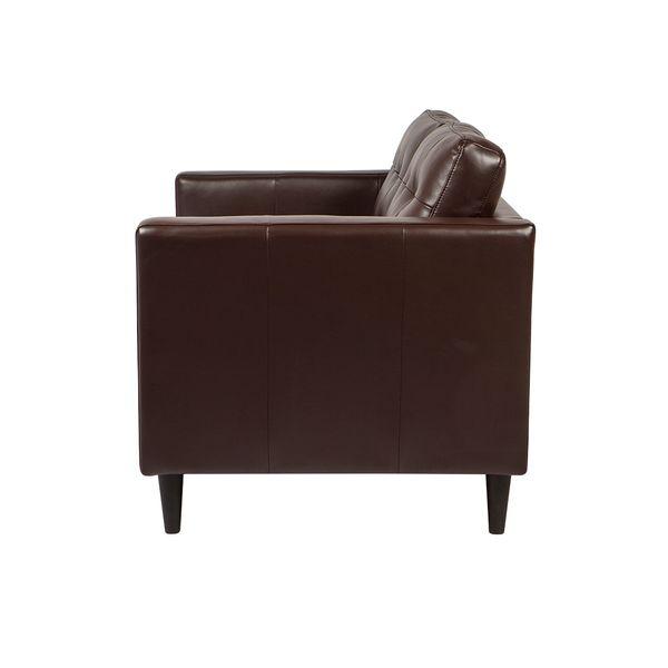 Sofa-3-Puestos-Village-Cuero-Sintetico-Cafe-Oscuro----------