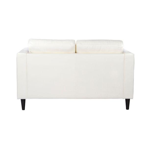 Sofa-2-Puestos-Village-Cuero-Sintetico-Blanco---------------