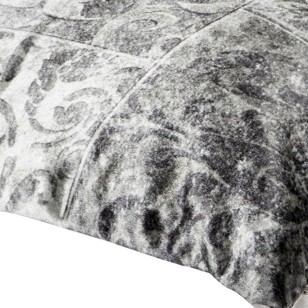 Funda-Cojin-C5S17-Velvet-Azulejos-45-45Cm-Poliester-Plata
