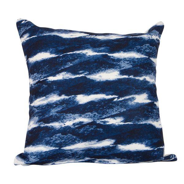 Funda-Cojin-C4S17-Elemental-Deep-Blue-45-45Cm-Poliester-Azul