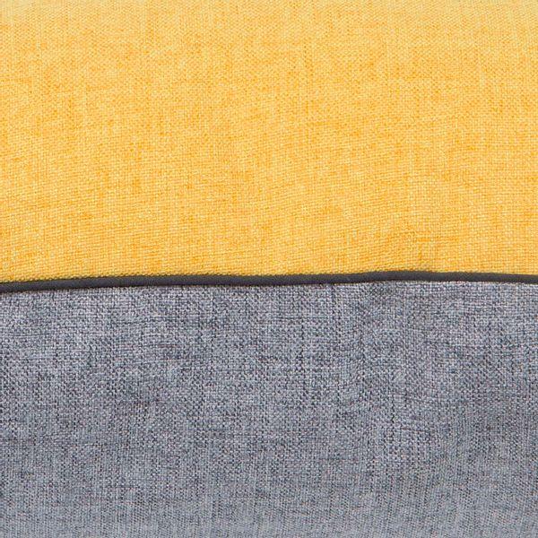 Funda-Cojin-S17-Unicolor-Poliester-Amarillo-Gris------------