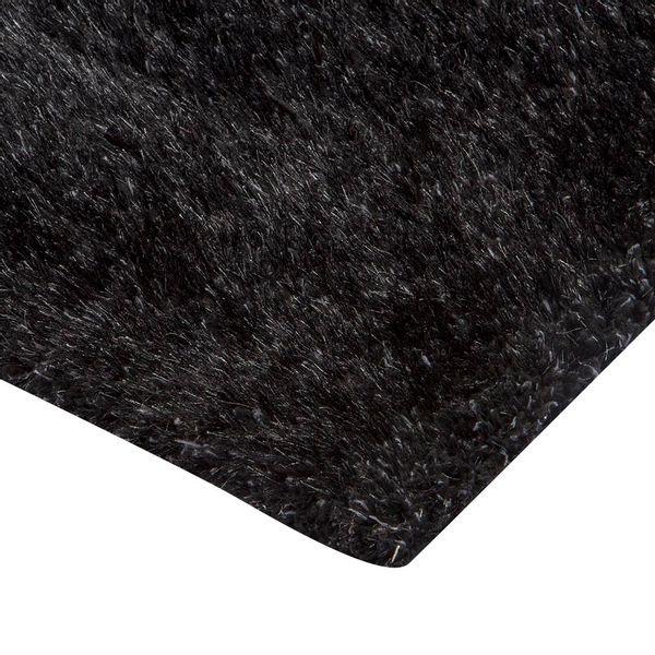 Tapete-Rectangular-Shag-Furry-120-170-4Cm-Poliester-Negro-G-