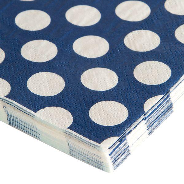 Servilleta-Serendipity-Puntos-165-15-165Cm-Papel-Azul-Bco