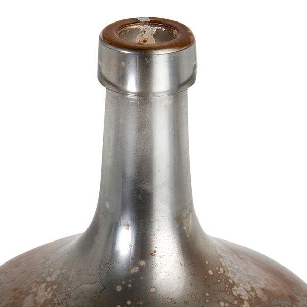 Botella-Boca-Estrecha-15.5-15.5-28Cm-Vidrio-Espejo-Cobre-Ros