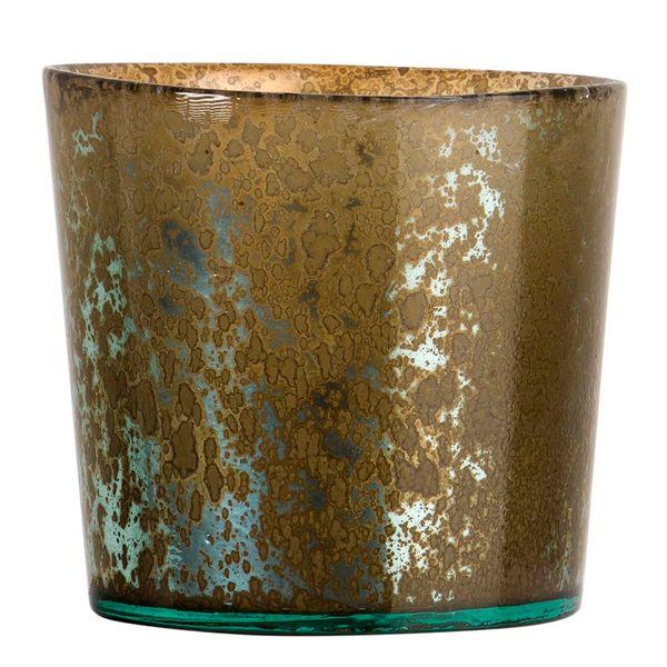 Botella-Pot-Manhattan-13.5-13.5-12.5Cm-Vidrio-Espejo-Dorado-