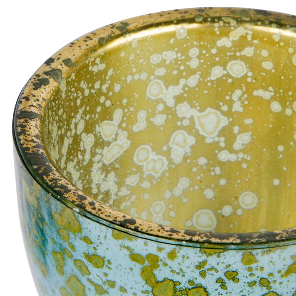 Botella-Pot-Alemania-8.5-8.5-6.5Cm-Vidrio-Espejo-Dorado------