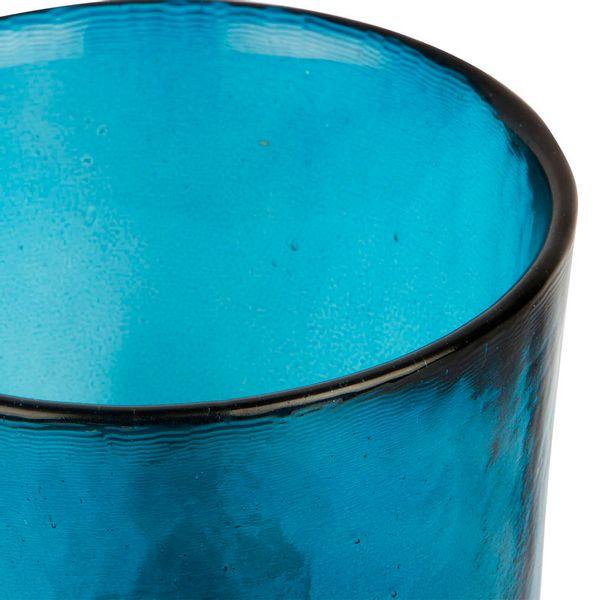 Botella-Pot-Manhattan-13.5-13.5-12.5Cm-Vidrio-Azul-Profundo-