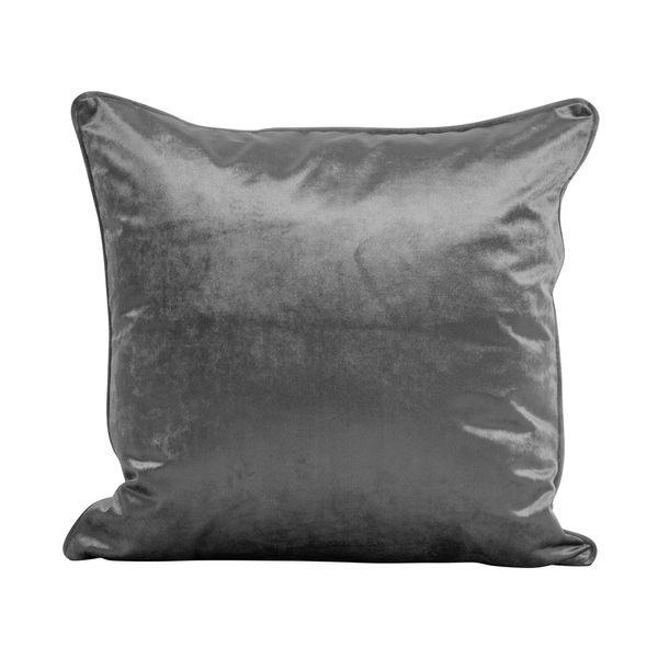 Funda-Cojin-S17-Basic-Velvet-45-45Cm-Poliester-Gris-Humo----