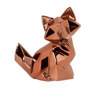 Figura-C17-Zorro-Niza-14-10-16Cm-Ceramica-Cobre