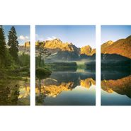 Set-3-Cuadros-Italian-Alps-Lake-60-80Cm-Vidrio