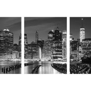 Set-3-Cuadros-Manhattan-Waterfront-60-80Cm-Vidrio
