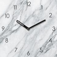 Reloj-Marble-Plate-20-20Cm-Vidrio-Gris