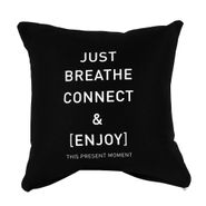 Funda-Cojin-Ltb-Just-Breathe-45-45Cm-Algodon-Negro----------