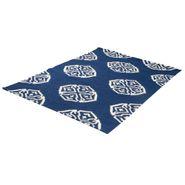 Tapete-Rectangular-Mosaico-B-120-180Cm-Lana-Azul-Blanco