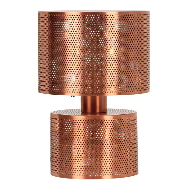 Lampara-De-Mesa-Pebble-18-18-265Cm-Metal-Cobre