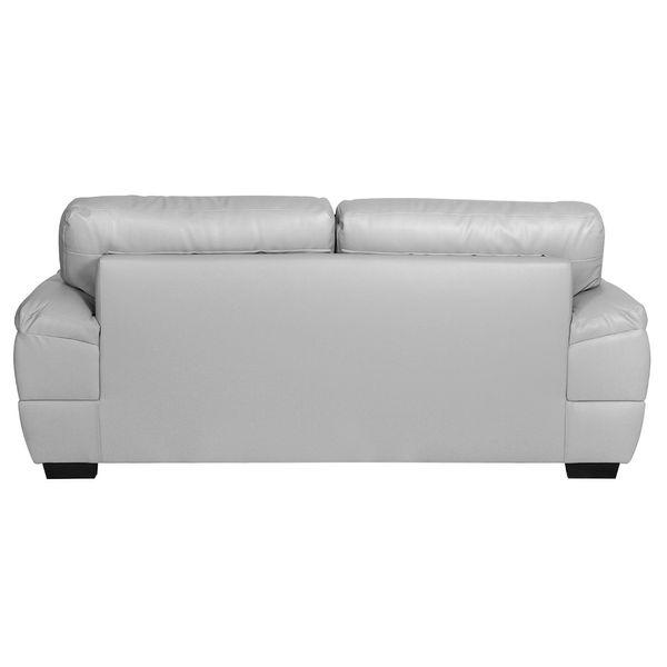 Sofa-3-Puestos-Modena-Cuero---Pvc-Gris-Claro----------------