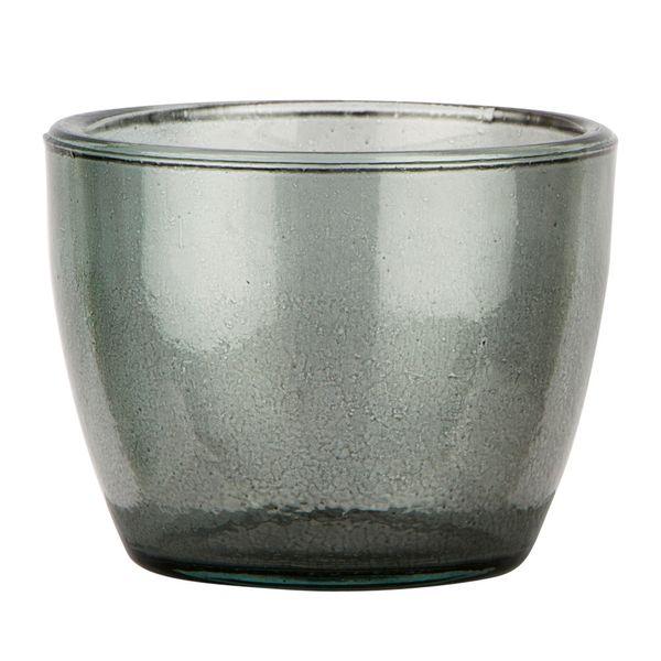 Botella-Pot-Alemania-8.5-8.5-6.5Cm-Vidrio-Gris-Humo---------