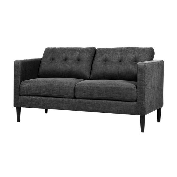 Sofa-2-Puestos-Line-Tela-Wester-Gris-Oscuro-----------------