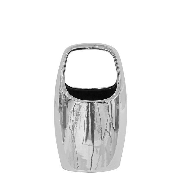 Jarron-Unit-Peq-13-9-18Cm-Ceramica-Plateado-----------------
