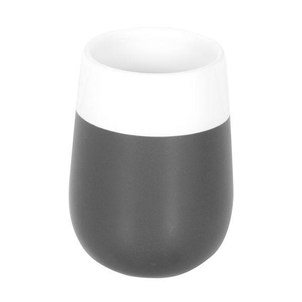 Vaso-Baño-Malta-8-8-10Cm-Ceramica-Gris-Blanco---------------