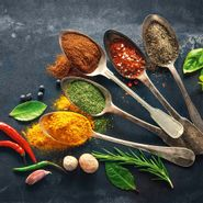 Cuadro-Colorful-Spices-On-Spoons-30-30Cm-Vidrio