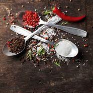 Cuadro-Salt-Pepper-Chili-On-Spoons-30-30Cm-Vidrio