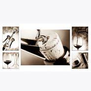 Set-5-Cuadros-Classic-Winetasting-Canvas