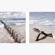 Set-2-Cuadros-Soft-Beach-30-30Cm-Vidrio