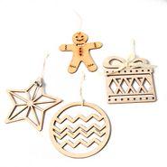 Navidad-C17-Set-4-Apliques-Figuras-Madera-Gris--------------