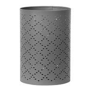 P-Vela-Votive-Pluff-12-12-18Cm-Metal-Gris